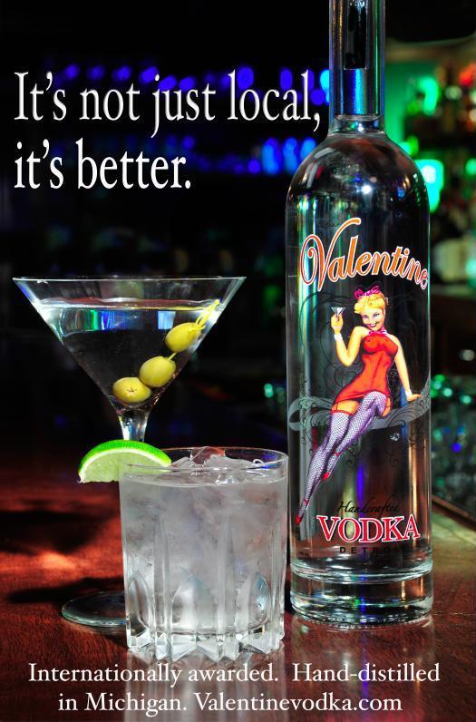 Promote Michigan News Valentine Vodka Wins Gold Medal At Bti