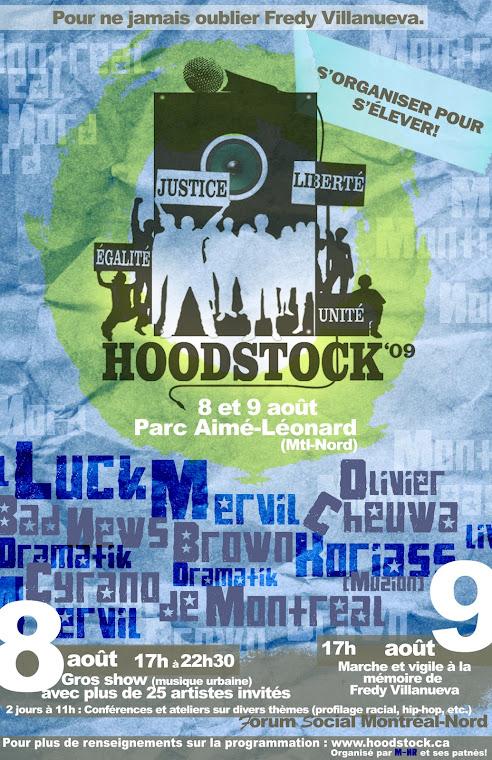 Affiche HOODSTOCK 09