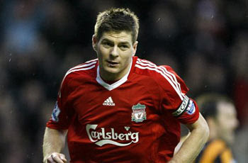 1) Steven Gerrard: Liverpool