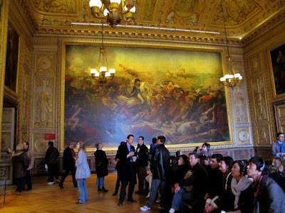 versailles france painting art