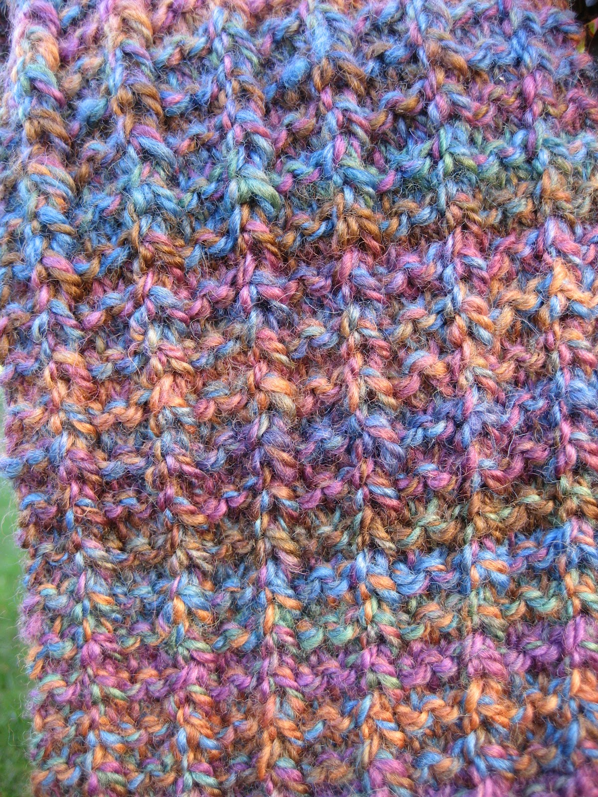 The Sojourning Spinner Second Scarf