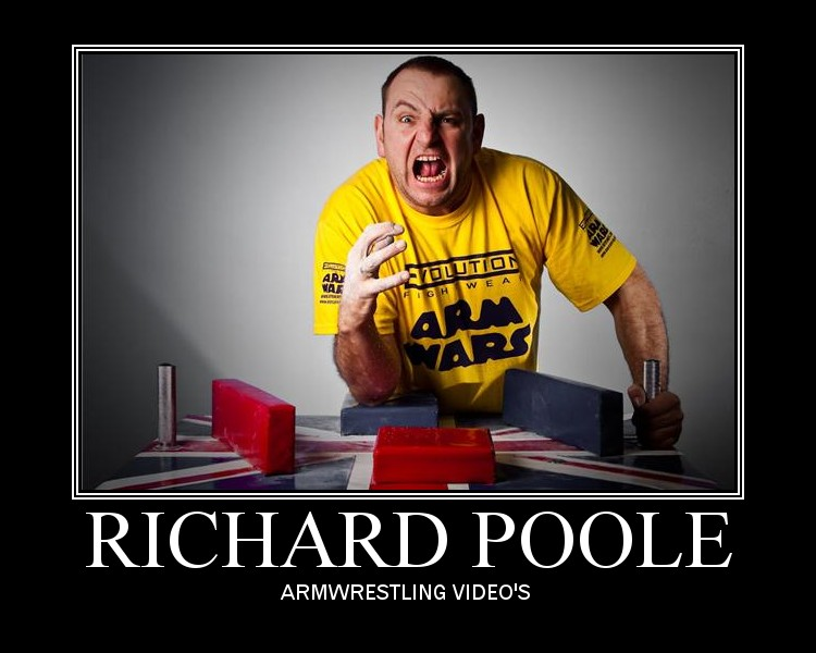 Richard's Armwrestling Video's
