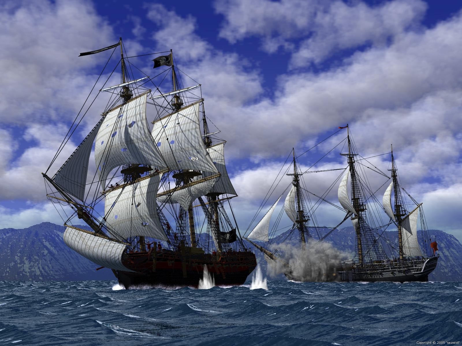 Jim's Wargames Workbench: Pirate Ship Ideas