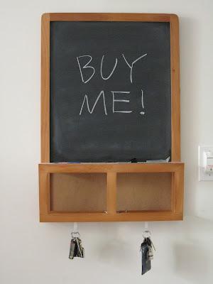 material possessions ikea luns organizer blackboard 5