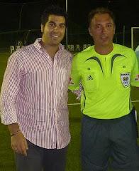 Con Medina Cantalejo