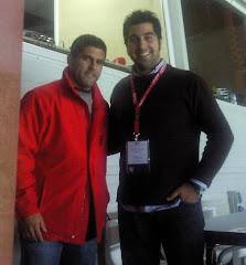 Con el gran Carlitos