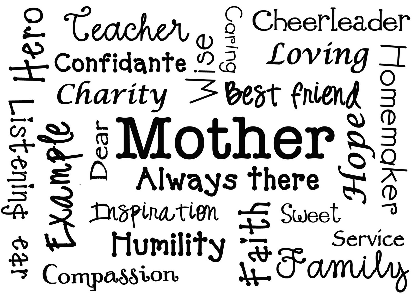 descriptive mom One of my favorite persons in this world is my mom she is a nice person like other mothers, she has a nice personality she is friendly to her children, so we are.