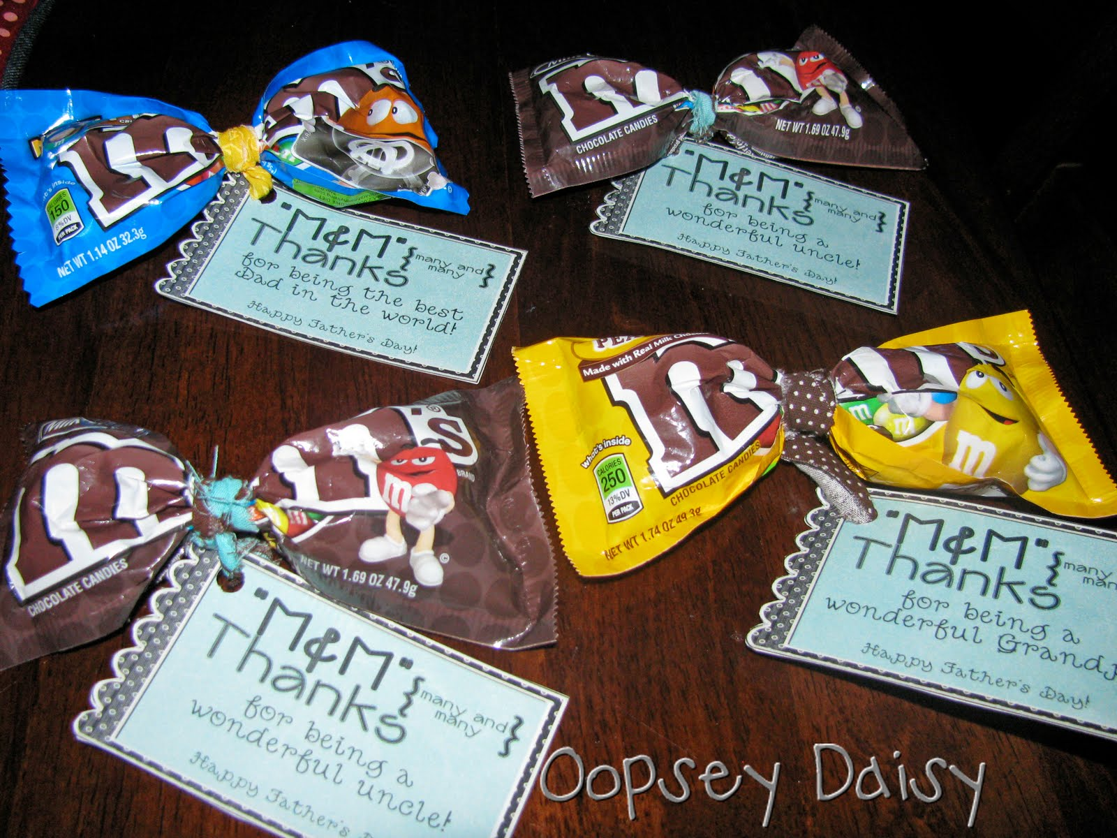 M&M Bowties for Father's Day | Oopsey Daisy