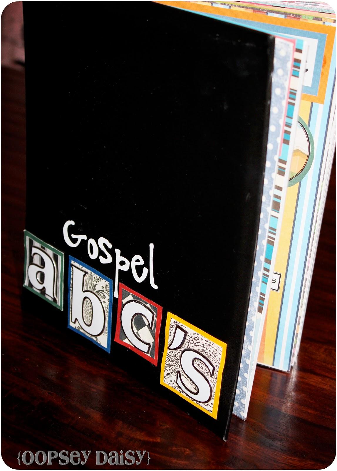 Scrapbook ideas abc album - Gospel Abc Scrapbook