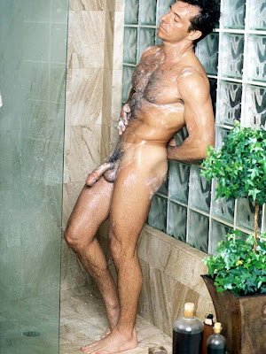 Men gallery in shower Naked