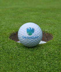 Barclays golf tournament golf ball
