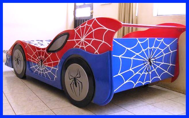 Muebles decoratiba adolfo ibarra v cama para ni o modelo carro - Camas de coches para ninos ...