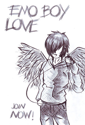 emo lovers anime. emo love forever. love you