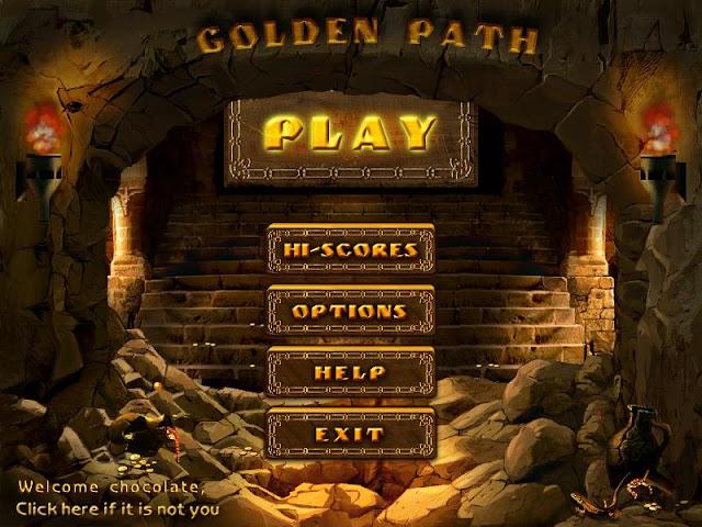 The Golden Path of Plumeboom, Juego en Ingles de Destruir Bolitas