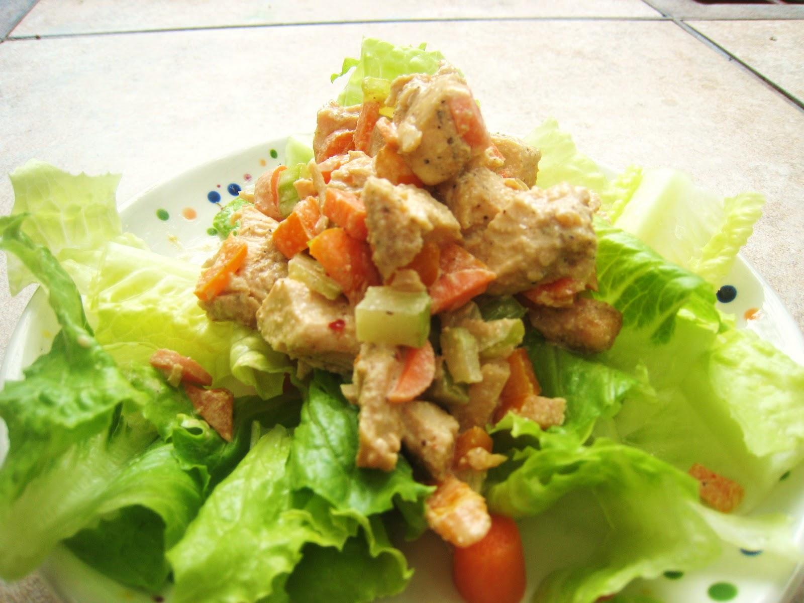 Like Cajun chicken salad.