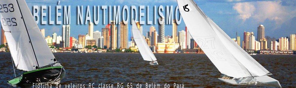 Flotilha Belém de veleiros RC classe RG 65 de Belém do Pará