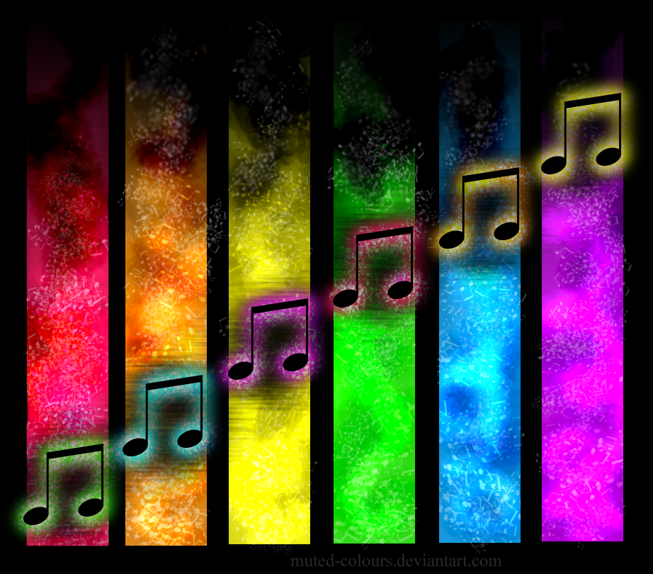 Blogger Zeronine Music Note Wall