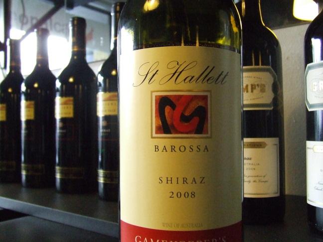 St hallett single vineyard hampel shiraz 2013
