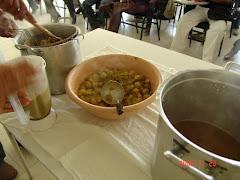 A obtenção da polpa do imbu