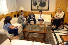 Reunión con Presidente del Gobierno de Canarias