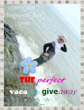 the perfect vacation giveaway by ciare :)