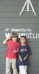 Max and Zack at Winestudios