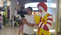 John and the Thai Ronald McDonald