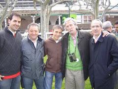 Con los jefes de Martul y Classic