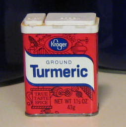 I don't even know how old this tumeric tin is.