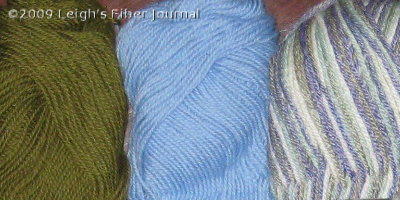 A possible yarn combination for socks?