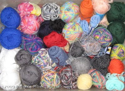 My sock yarn stash