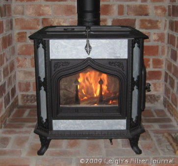 I love our new woodstove