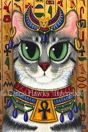Bastet by Carrie Hawks