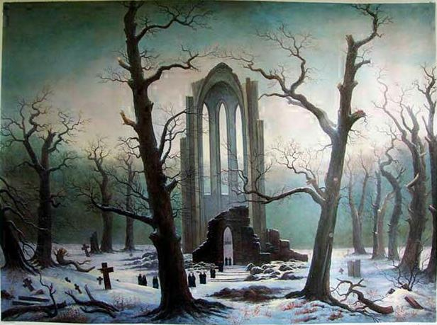 [Image: friedrich_cloister_cemetery_in_the_snow_1817-19.jpg]
