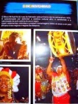 Criação do Bloco Afro Ilê Aiyê