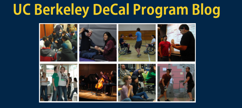 UC Berkeley DeCal Program Blog
