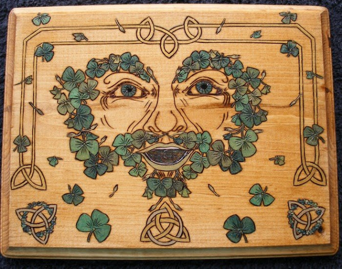 Laughing Irish Greenman