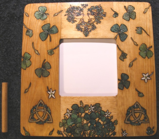 Irish Greenman Frame