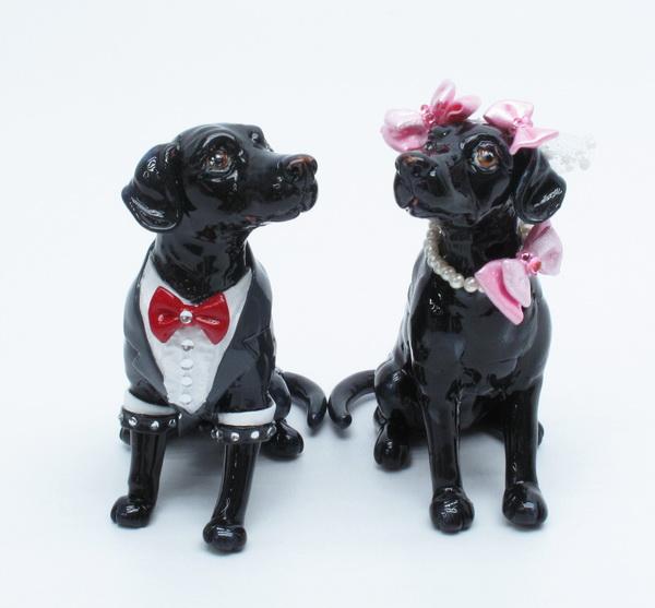 Lab puppy wedding