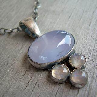 purple necklace