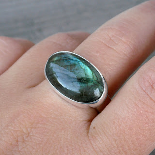 mens labradorite ring