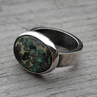 variscite ring