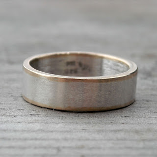 recycled mens ring