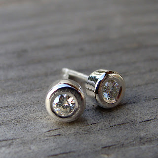 moissanite earrings