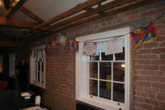 Flags at Metal Culture Gallery, Edge Hill Station, Liverpool