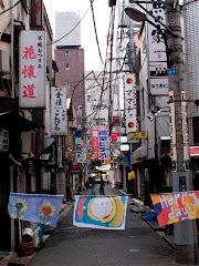 Belfast Flgs in downtown Tokio