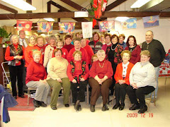 Christmas Party for the Hudson Valley Tole and Decorative Painters with your flags.