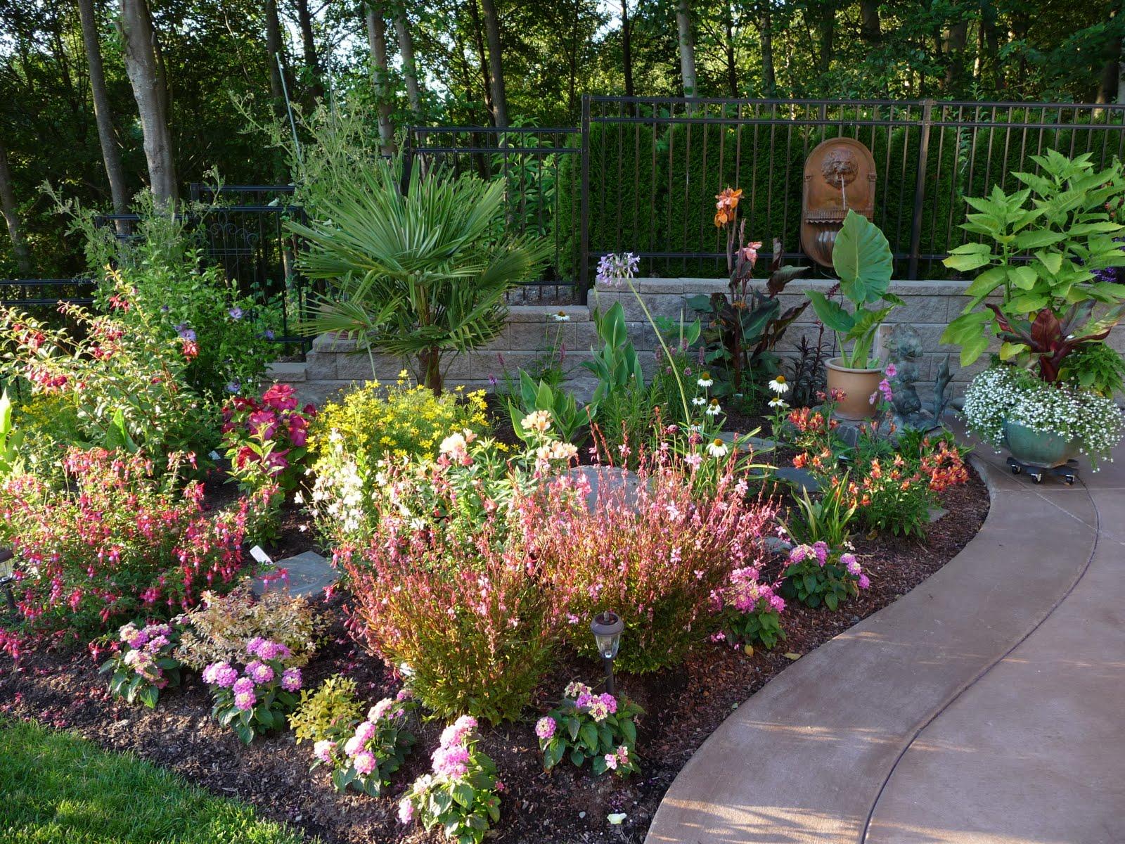 Tropical Flower Garden Viewing Gallery