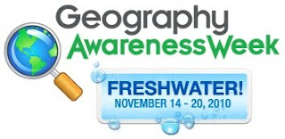 Logotipo de la Geography Awareness Week 2010