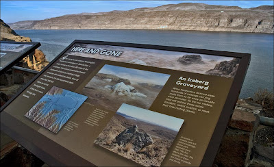 Washington State Parks interpretive panel.